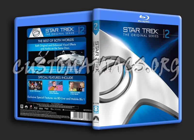 Star Trek The Original Series Season 2 blu-ray cover