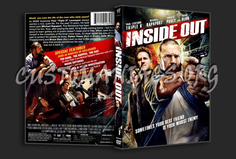 Inside out dvd cover dvd covers labels by customaniacs for Inside 2007 dvd