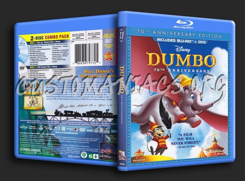 Dumbo blu-ray cover