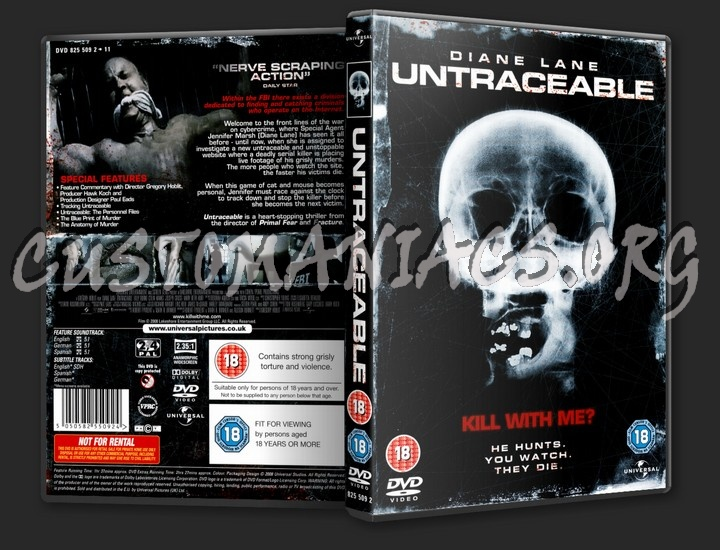 Untraceable dvd cover