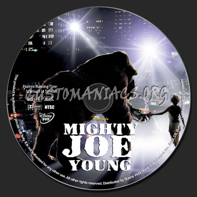 Mighty Joe Young dvd label