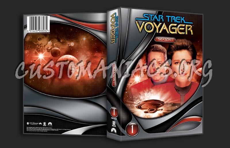 Star Trek Voyager Season 1 dvd cover