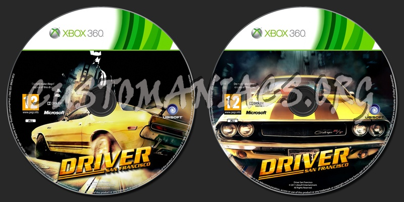 Driver San Francisco Dvd Label Dvd Covers Labels By Customaniacs Id 148573 Free Download Highres Dvd Label
