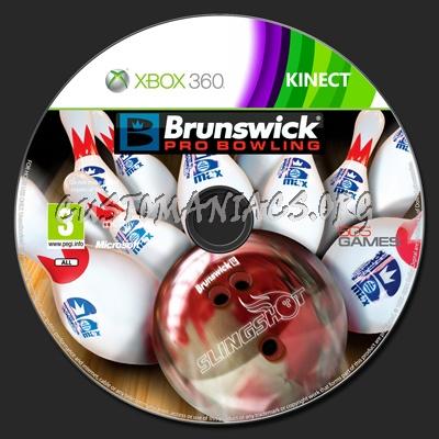 Brunswick Pro Bowling dvd label