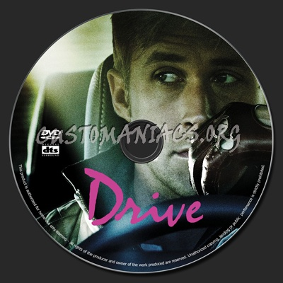 Drive dvd label