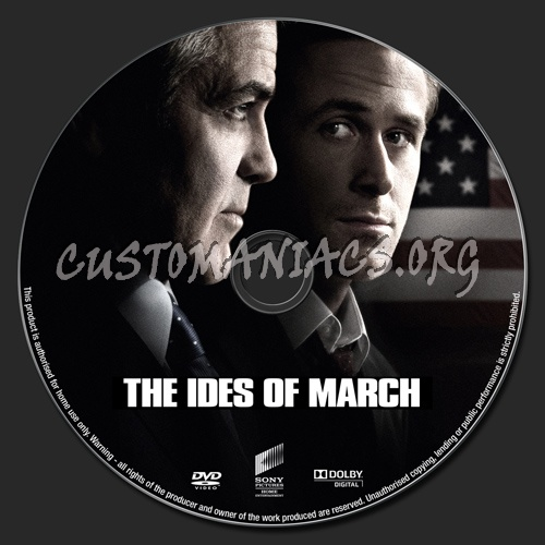 The Ides of March dvd label