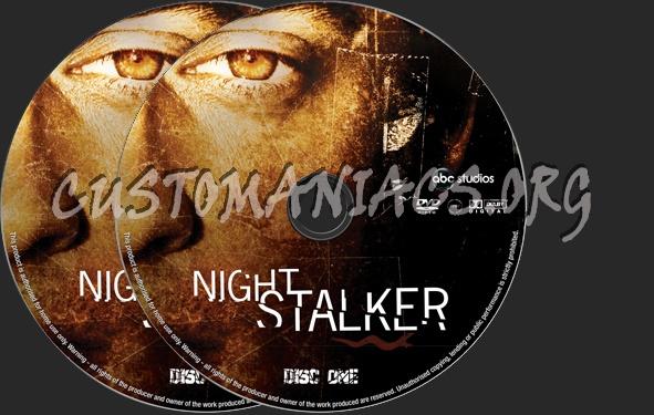 Night Stalker dvd label