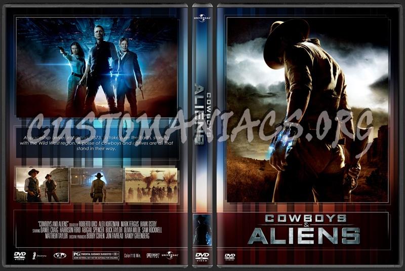 Cowboys & Aliens dvd cover