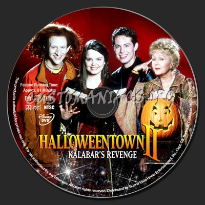 halloweentown 2 kalabars revenge dvd label
