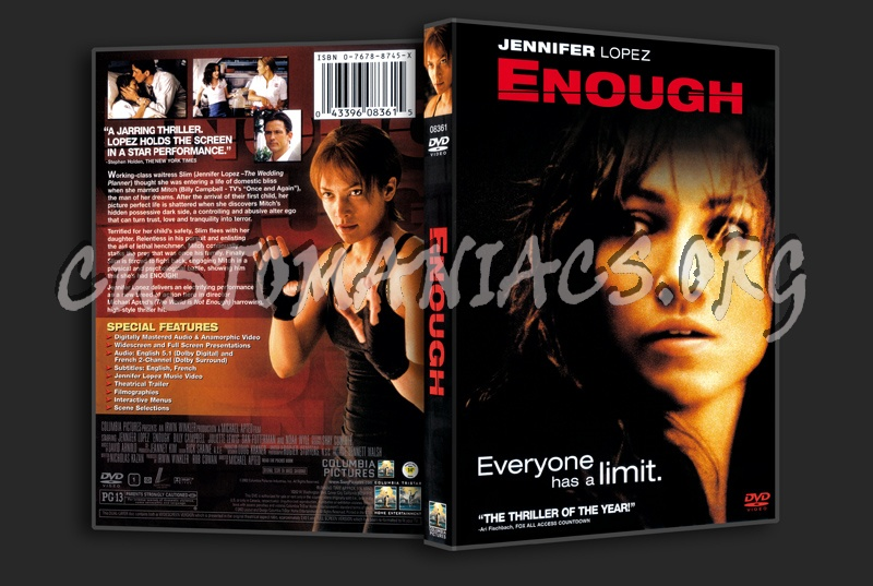 Enough dvd cover