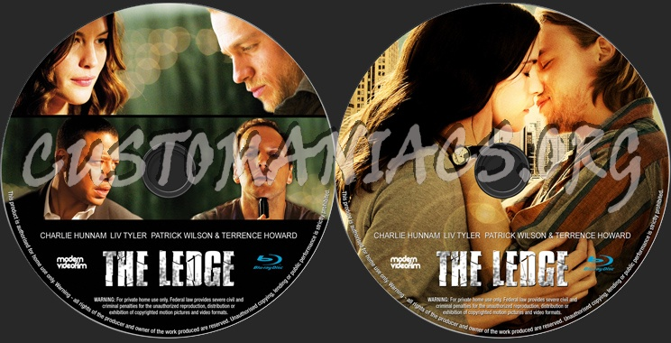 The Ledge blu-ray label