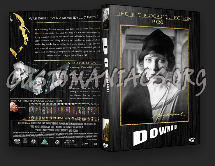 Downhill - The Alfred Hitchcock Collection dvd cover