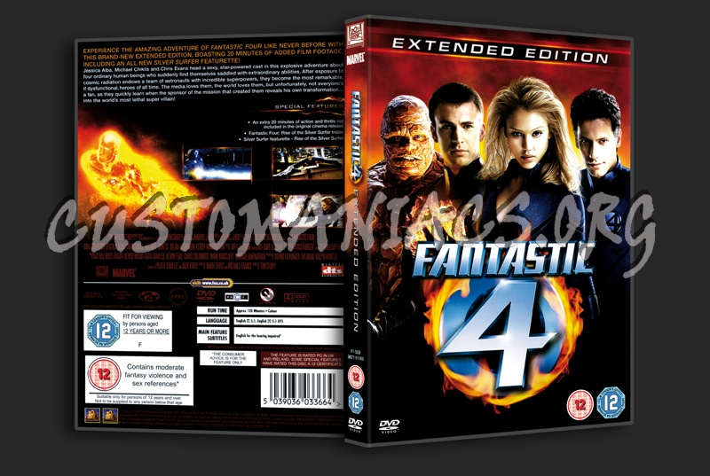 Fantastic Four dvd cover