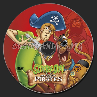 Scooby Doo And The Pirates dvd label