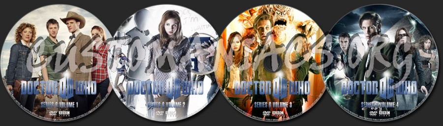 Doctor Who Series 6 dvd label