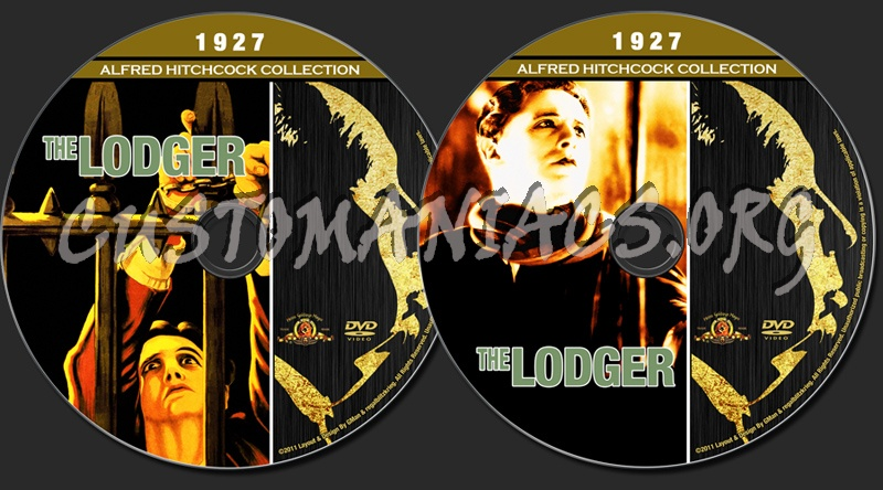 Alfred Hitchcock Collection - The Lodger dvd label