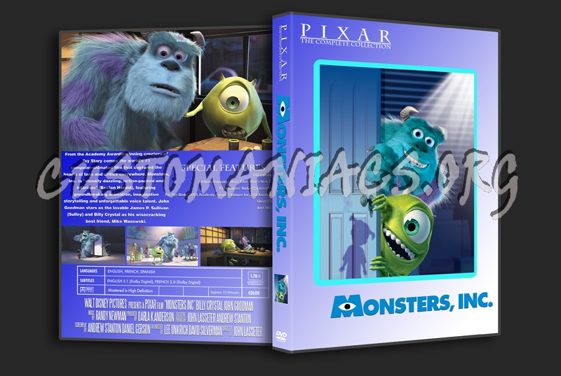 Pixar Movie Collection Dvd Cover