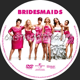 Bridesmaids dvd label