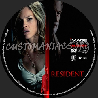 The Resident dvd label