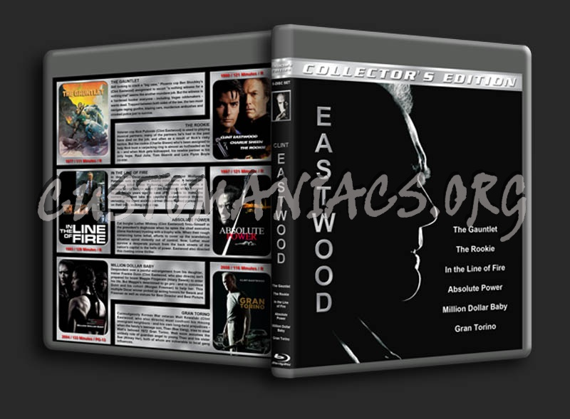 Clint Eastwood Collection blu-ray cover