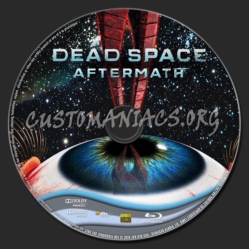 Dead Space Aftermath Blu Ray Label Dvd Covers Labels By