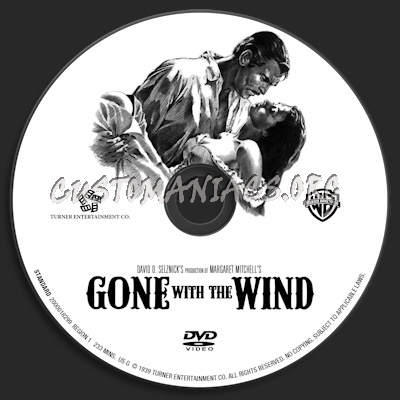 Gone with the wind dvd label dvd covers labels by customaniacs id 149608 free download - Gone with the wind download ...