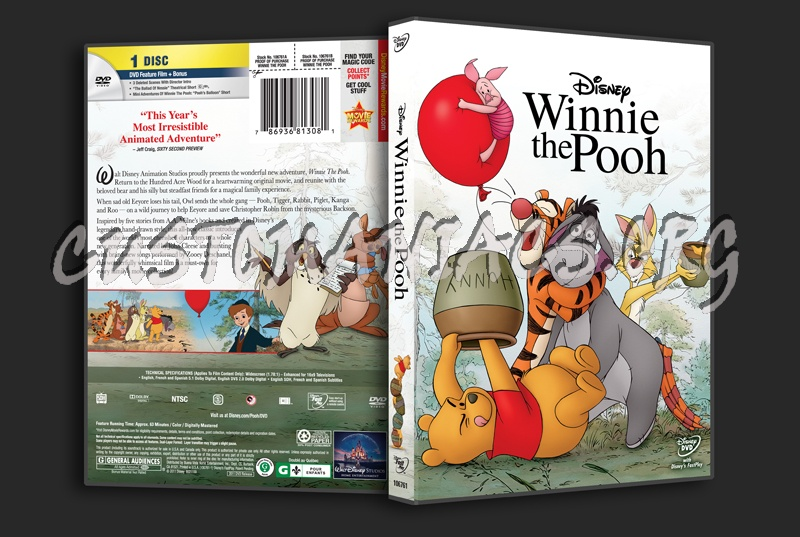Winnie the Pooh dvd cover