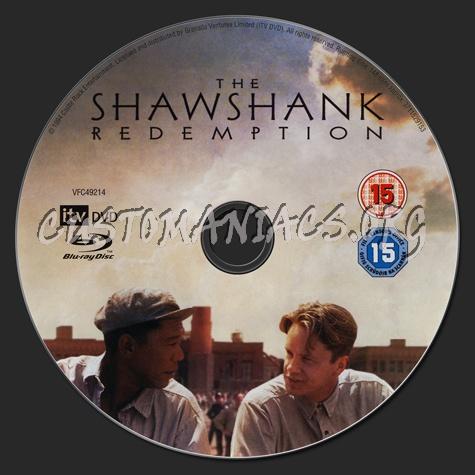 The Shawshank Redemption blu-ray label