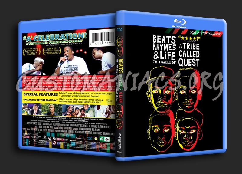 Beats Rhymes & Life The Story of a Tribe Called Quest blu-ray cover