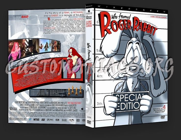 who framed roger rabbit dvd cover
