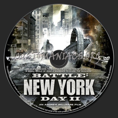 Battle New York Day 2 Dvd Label