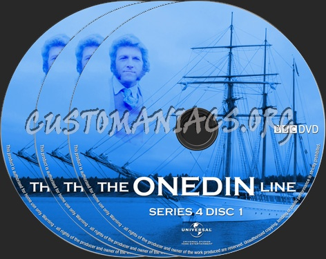 The Onedin Line Series 4 dvd label