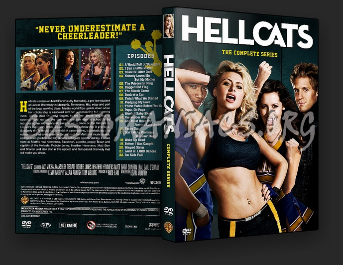 Hellcats - Complete Series dvd cover