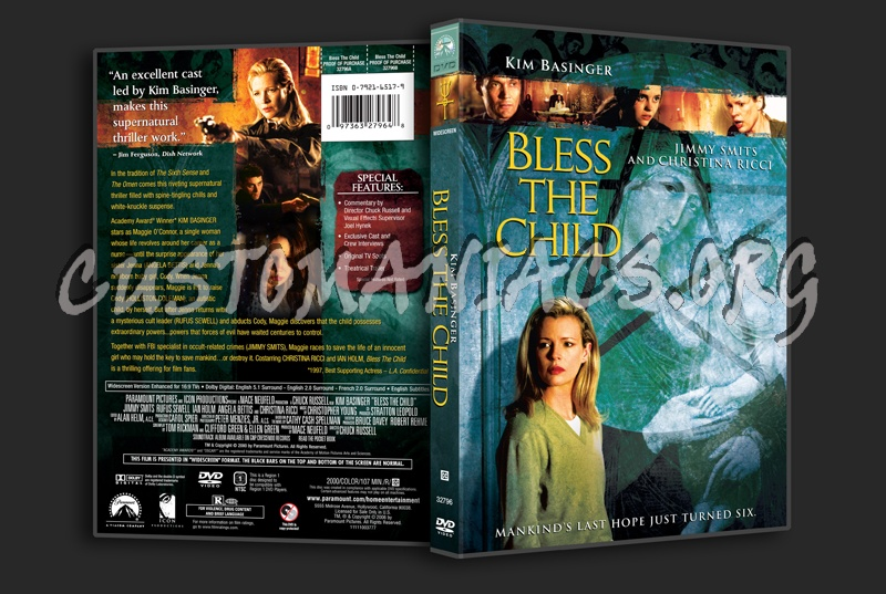 Bless the Child dvd cover