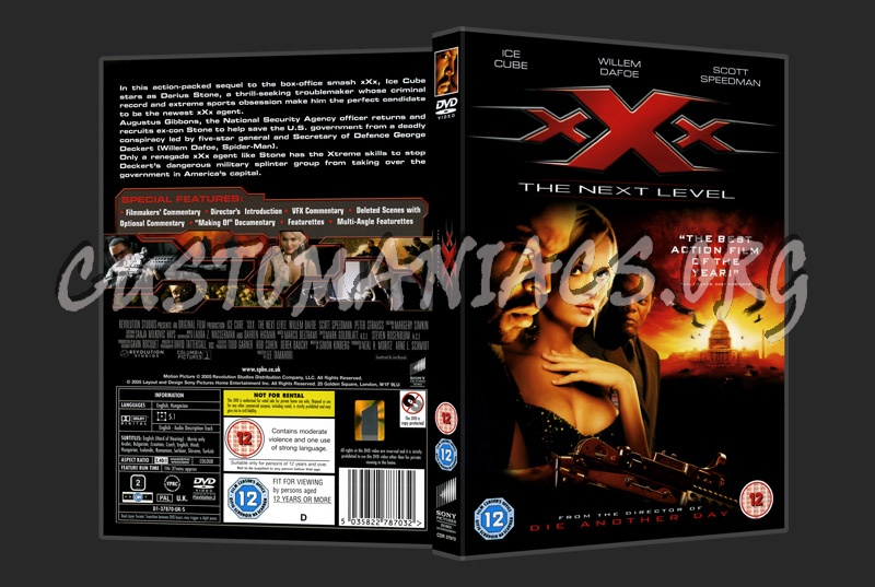 xXx The Next Level dvd cover