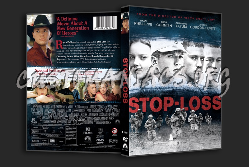 Stop-Loss dvd cover