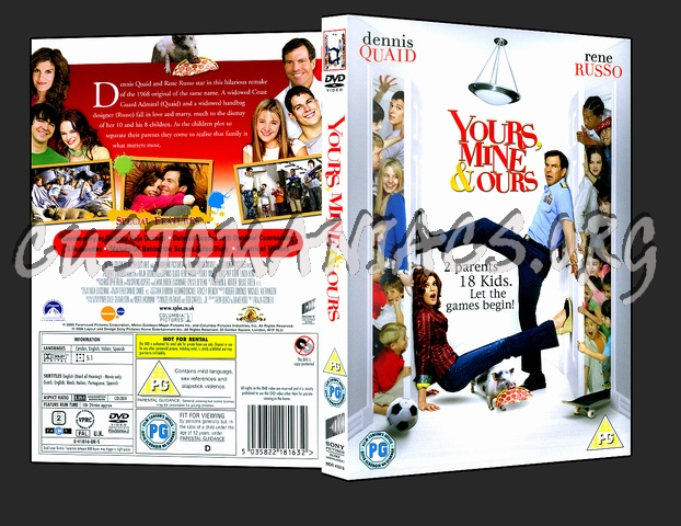 Yours Mine And Ours dvd cover