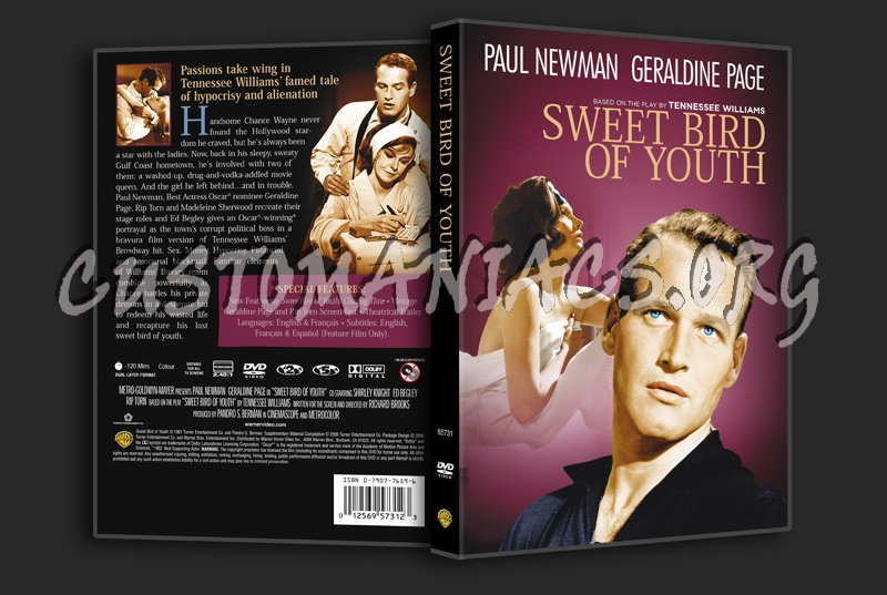Sweet Bird of Youth dvd cover