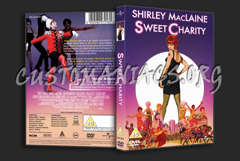 Sweet Charity dvd cover