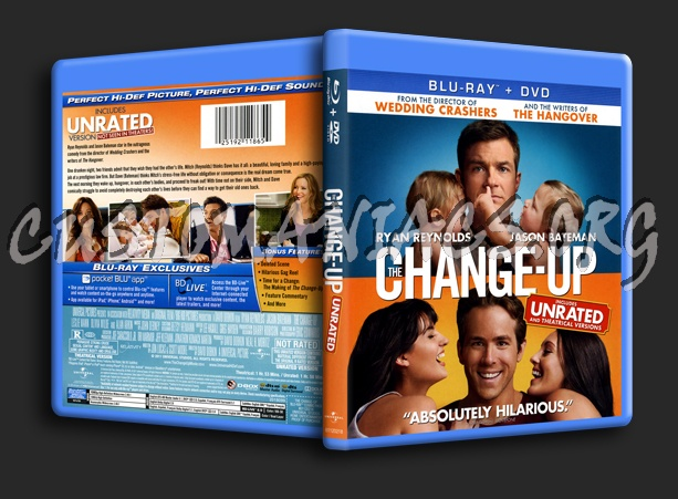 The Change Up Blu Ray Cover