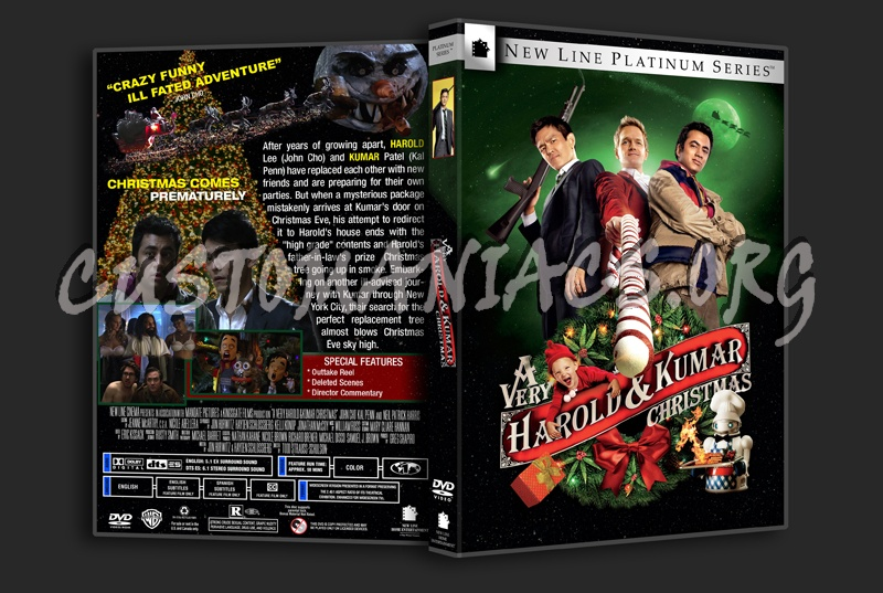 a very harold and kumar christmas dvd cover dvd covers labels by