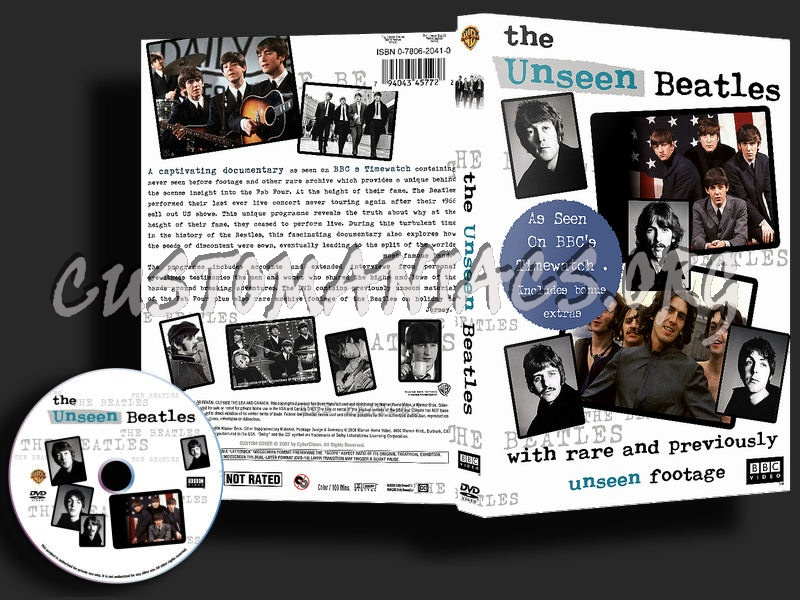 The Unseen Beatles dvd cover