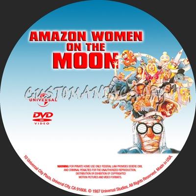 Amazon Women On The Moon dvd label