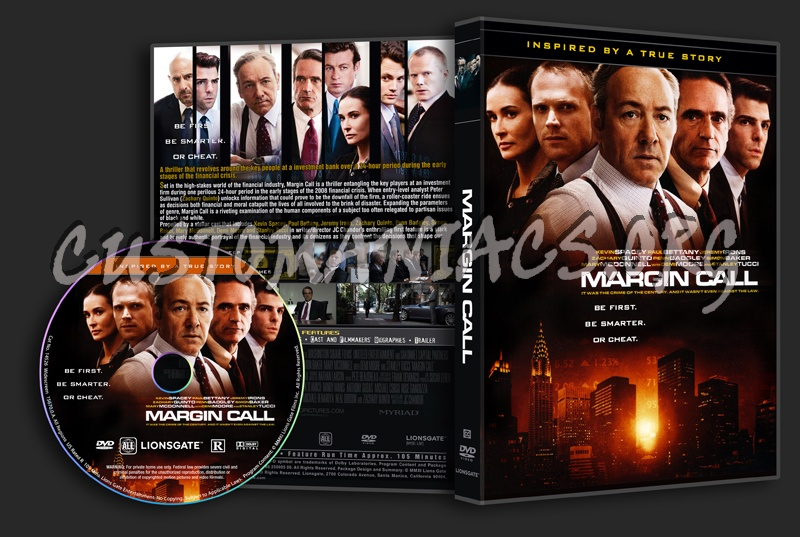 Margin Call dvd cover