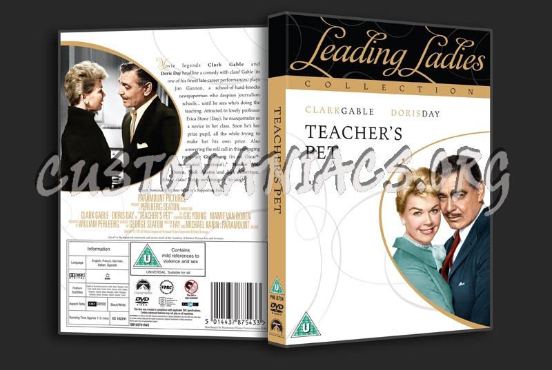 Teacher's Pet dvd cover