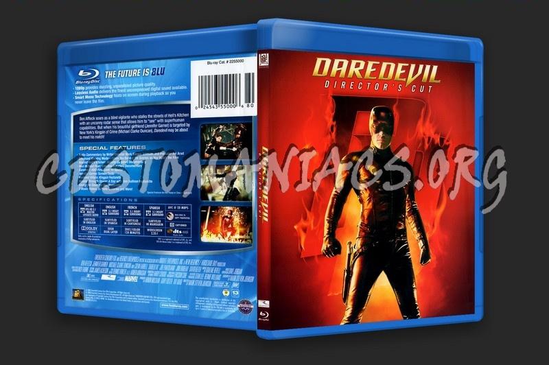 Daredevil blu-ray cover