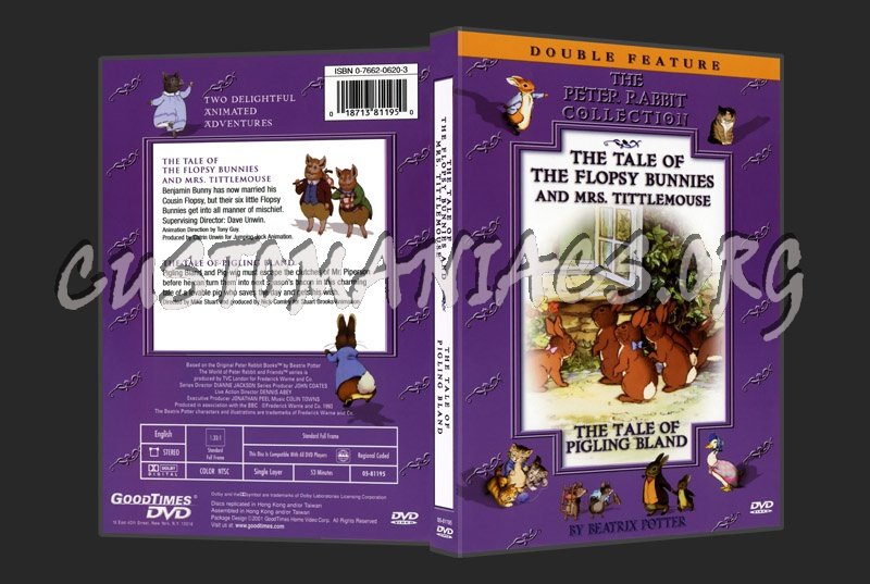 Beatrix potter-The Tale of Flopsy Bunnies & Mrs Tittlemouse dvd cover