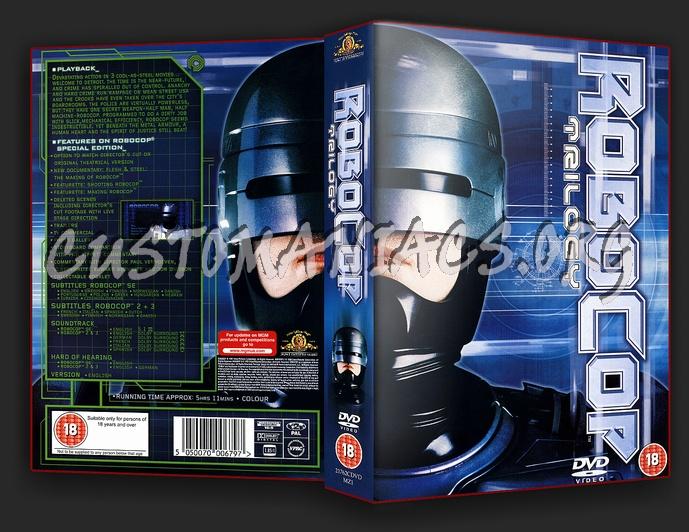 RoboCop Trilogy dvd cover