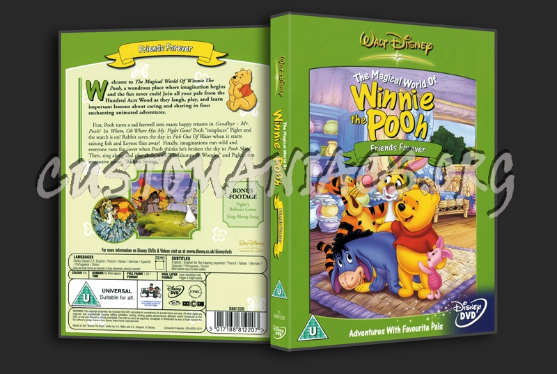 Winnie the Pooh Friends Forever dvd cover