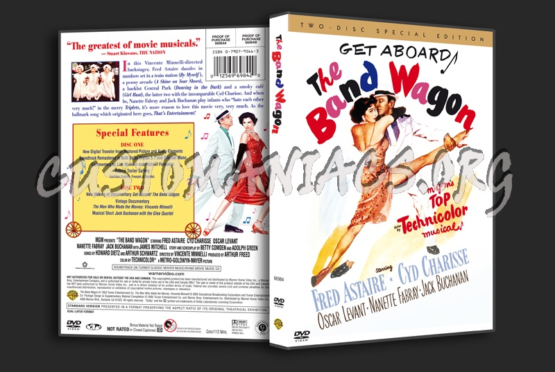The Band Wagon dvd cover